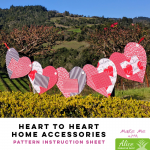 Heart to Heart - Alice Pineapple Pack Pattern