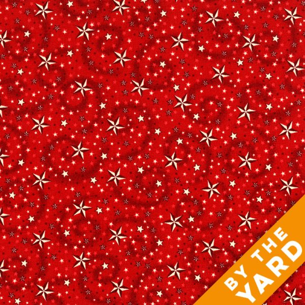 "American Dreams 108"" Quilt Backs 9813-88 - Red"