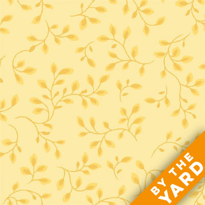 "Henry Glass 108"" Folio Quilt Backs 7882-03 - Yellow"