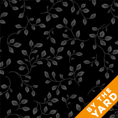 "Henry Glass 108"" Folio Quilt Backs 7882-99 - Black"