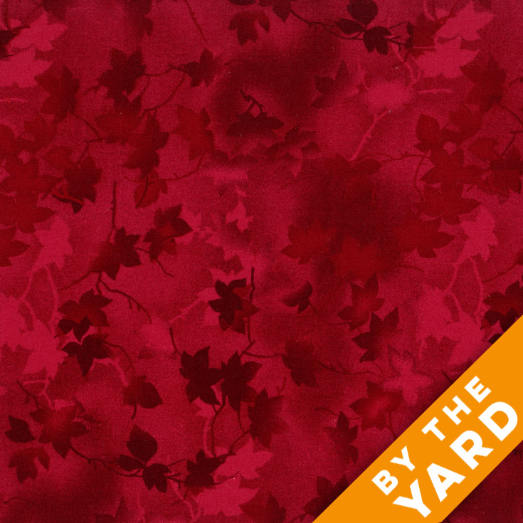 "Ivy 116"" Quilt Backs - Red - 183-11"