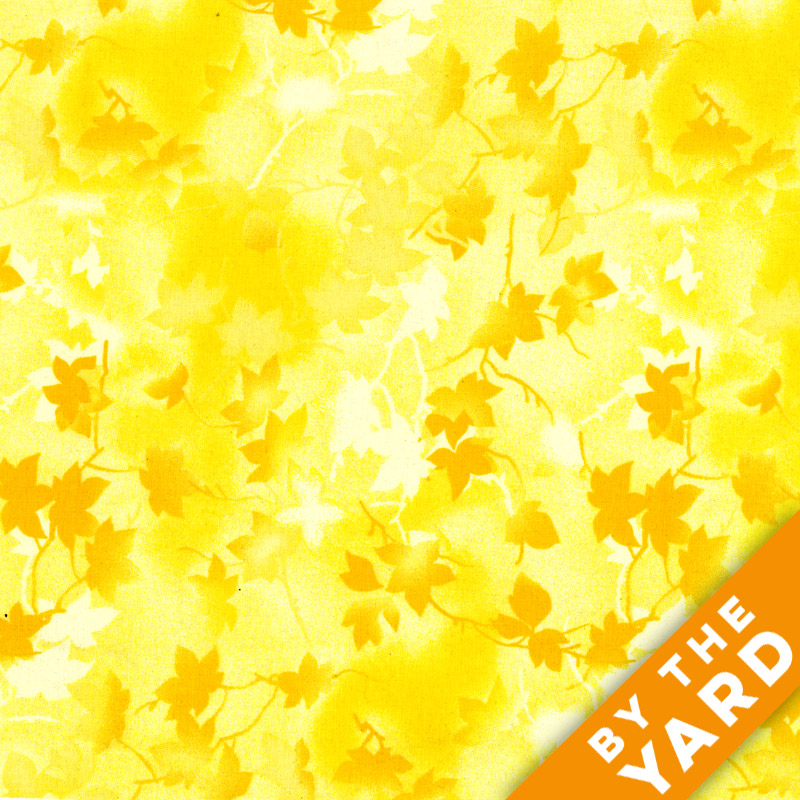 """Ivy 116"""" Quilt Backs - Yellow - 183-03"""