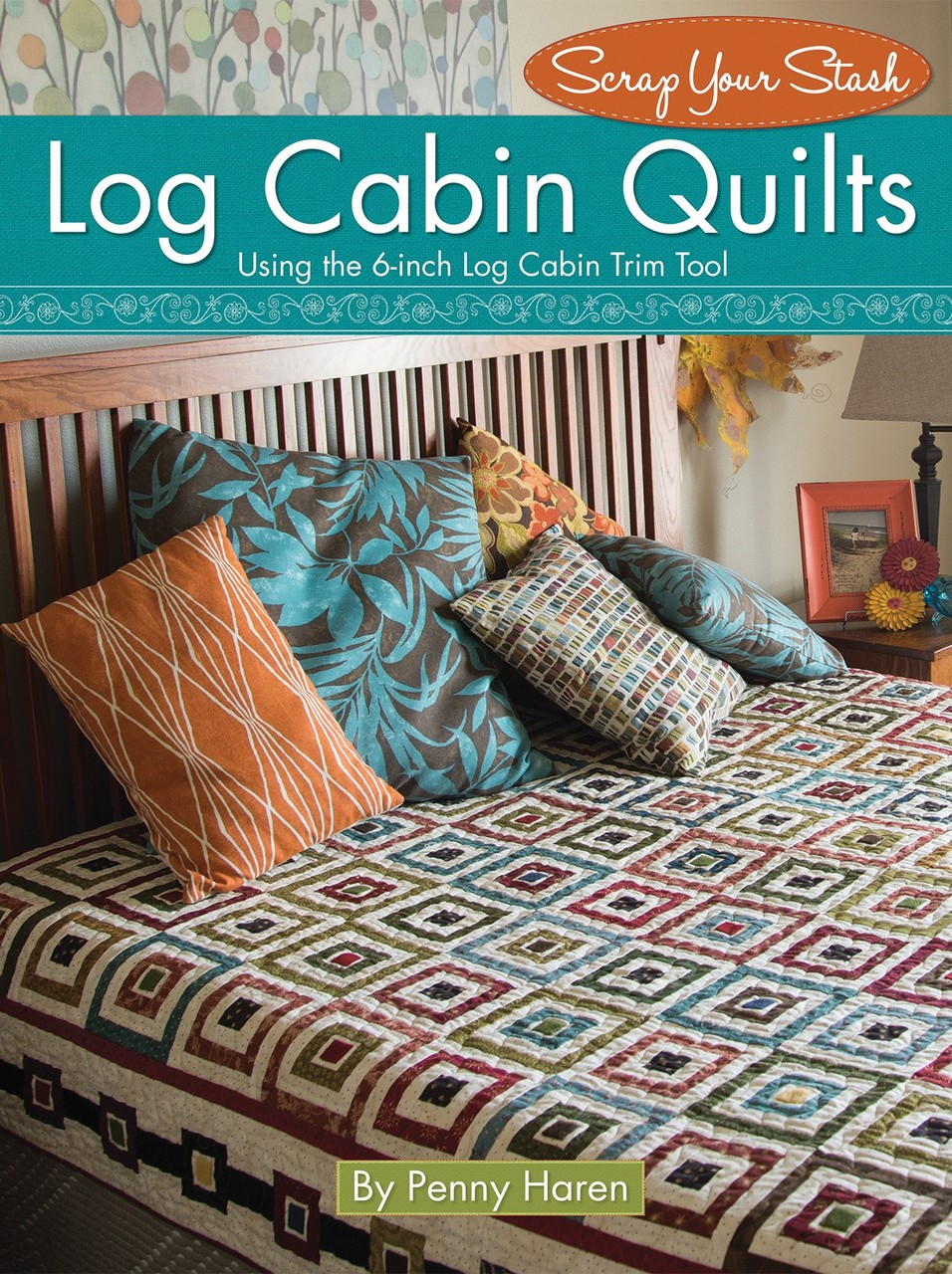 L8529 - Log Cabin Quilts - Softcover Pattern Book