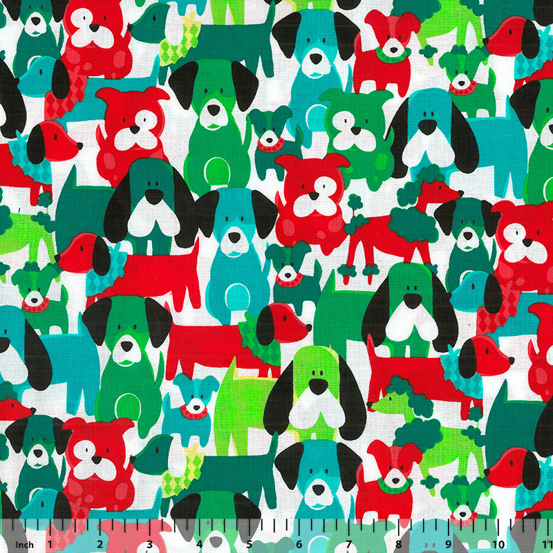 Michael Miller - Dog Dang It - CX6283 - HOLL-D - Fabric By the Yard