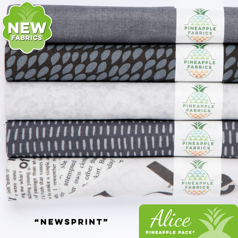 Newsprint - Alice Pineapple Pack