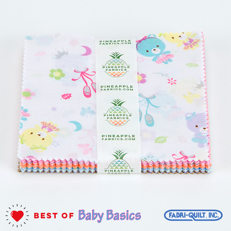 "Best of Baby Basics - Fabri-Quilt - 5"" Squares"