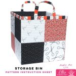 Storage Bin - Ellie Pineapple Pack Pattern
