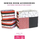 Sewing Room Accessories - Ellie Pineapple Pack Pattern