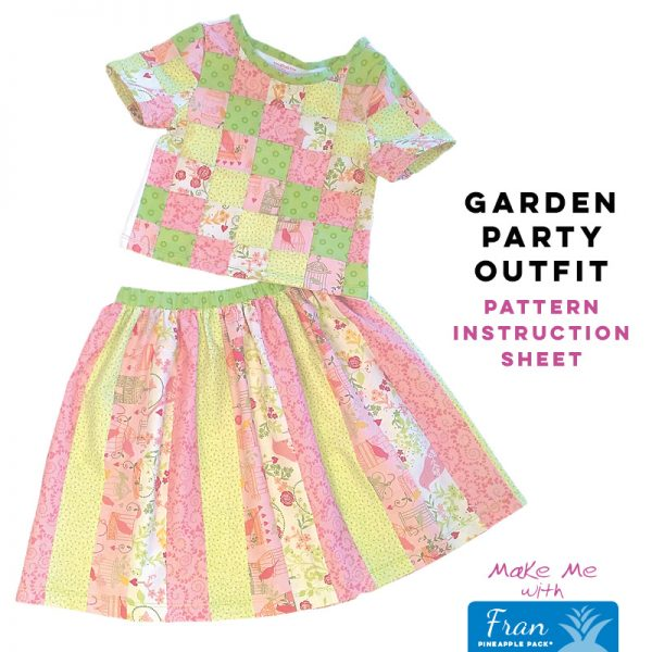 Garden Party Outfit - Fran Pineapple Pack Pattern