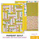 Parquet Quilt - Bella Pineapple Pack Pattern