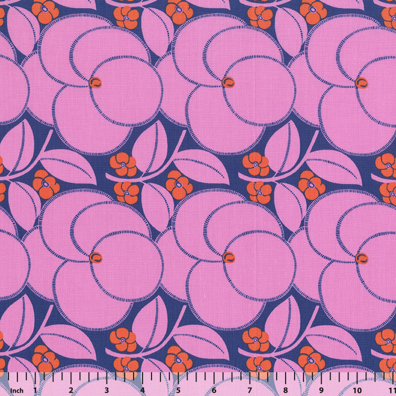Rowan - Amy Butler - Hapi - PWAB123 - Rose - Fabric by the Yard