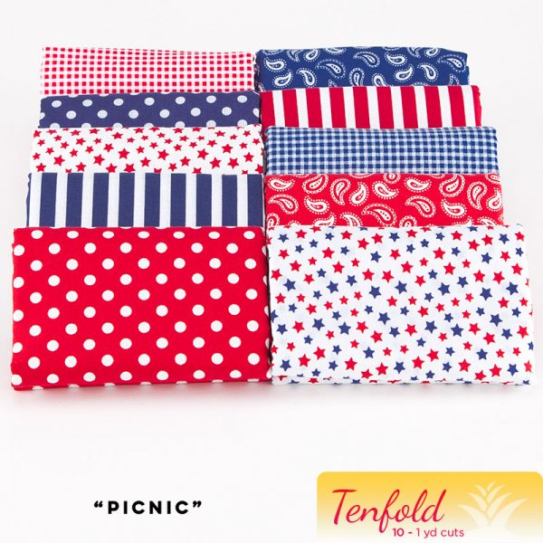 Picnic - Tenfold - Ten 1 yard Cuts