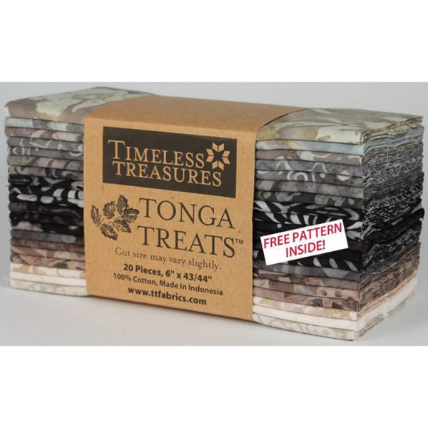 Timeless Treasures - Tonga Treats Batik 6 Pack - Gotham