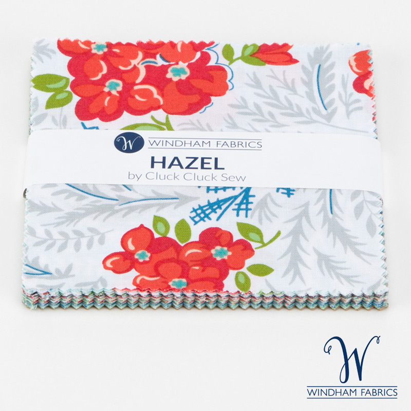 "Hazel by Allison Harris - 5"" Squares - 23 pieces"