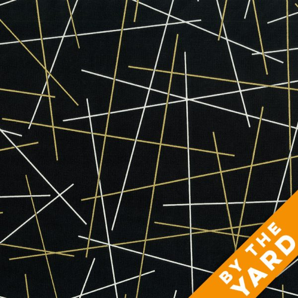 Windham - Gold and Bold - 40744M-1 - Fabric By the Yard