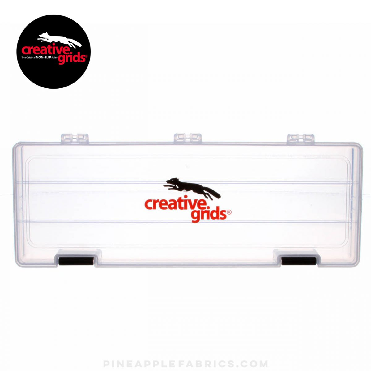 3901CG -  Creative Grids One Compartment Clear Case