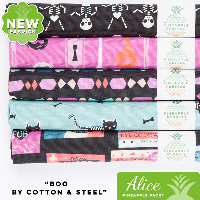 Boo by Cotton & Steel - Alice Pineapple Pack