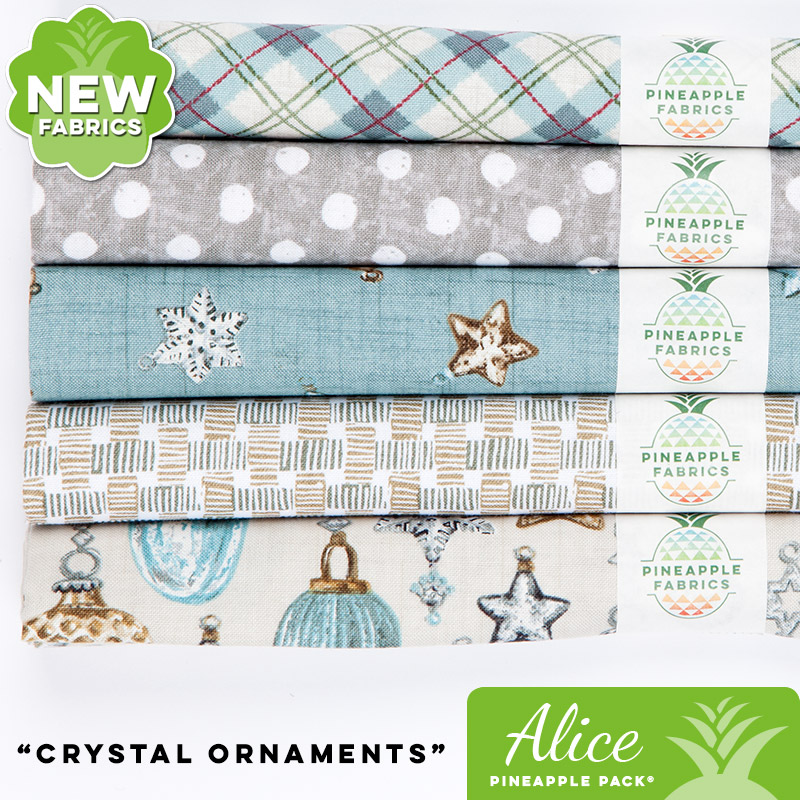 Crystal Ornaments - Alice Pineapple Pack