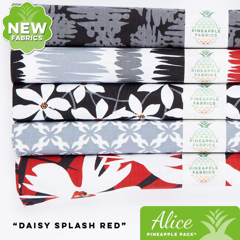 Daisy Splash Red - Alice Pineapple Pack