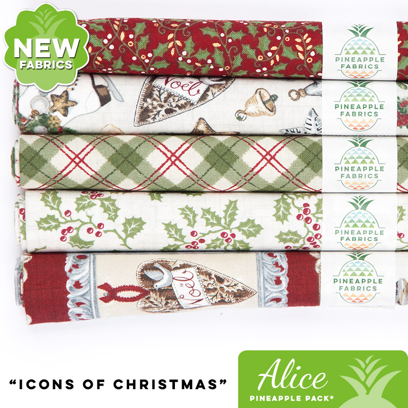 Icons of Christmas - Alice Pineapple Pack