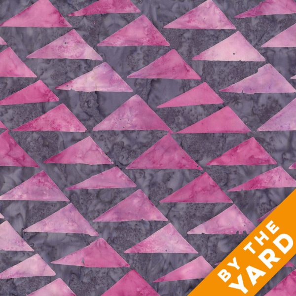 Artisan by Kaffe Fassett - Batik - Flags - Pink - By the Yard