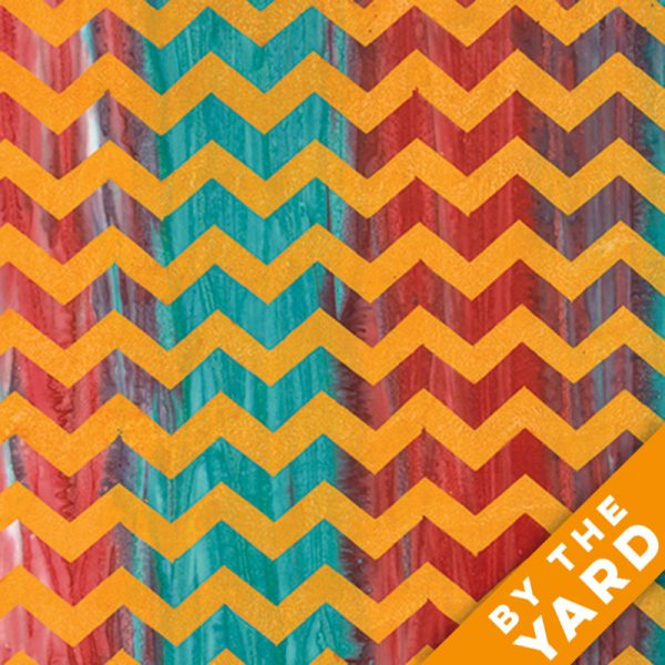Artisan by Kaffe Fassett - Batik - Lightening - Orange - By the Yard
