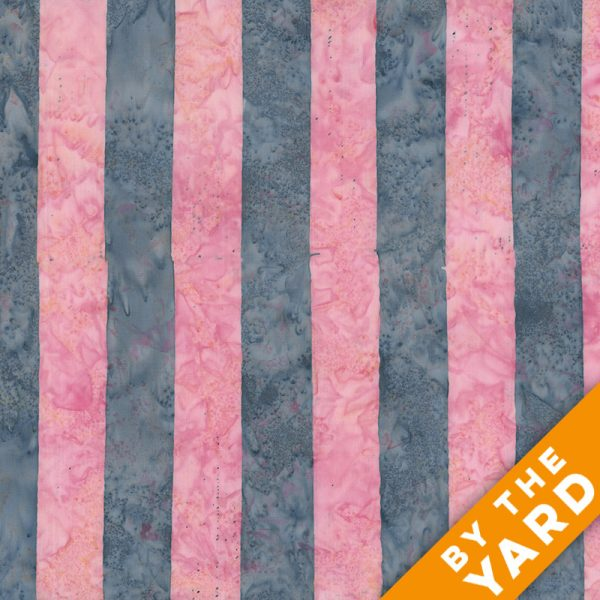 Artisan by Kaffe Fassett - Batik - Big Stripe - Pink - By the Yard