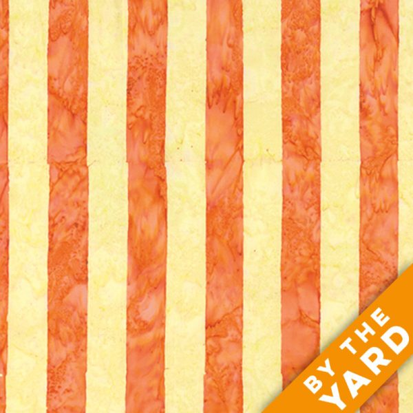 Artisan by Kaffe Fassett - Batik - Big Stripe - Yellow - By the Yard