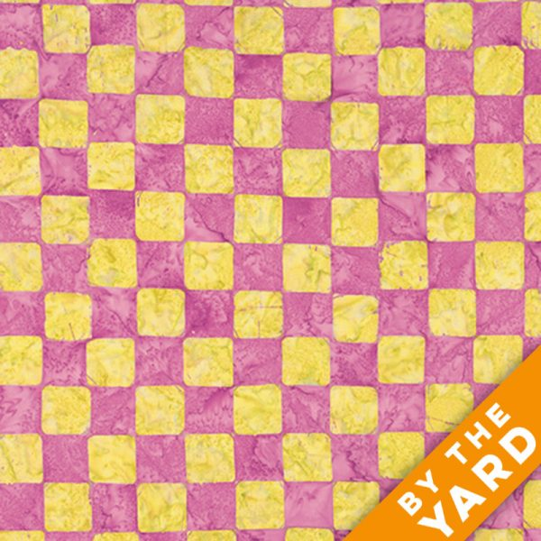 Artisan by Kaffe Fassett - Batik - Chess - Apple - By the Yard