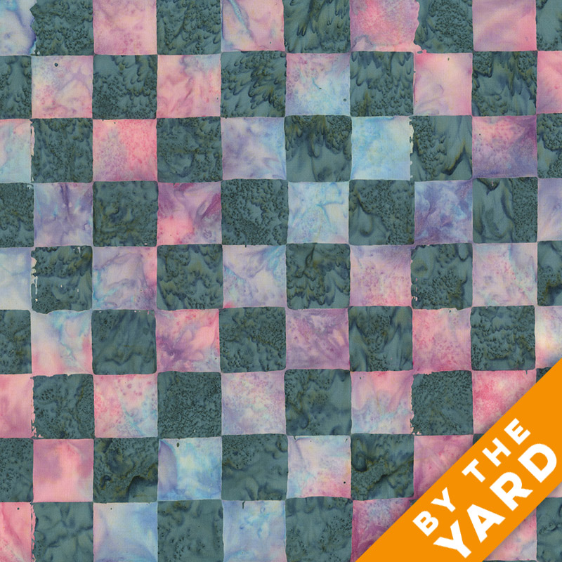 Artisan by Kaffe Fassett - Batik - Chess - Quartz - By the Yard