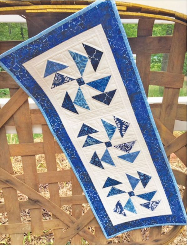 CLPDHE018 - Moody Blues Quilt Pattern by Cut Loose Press