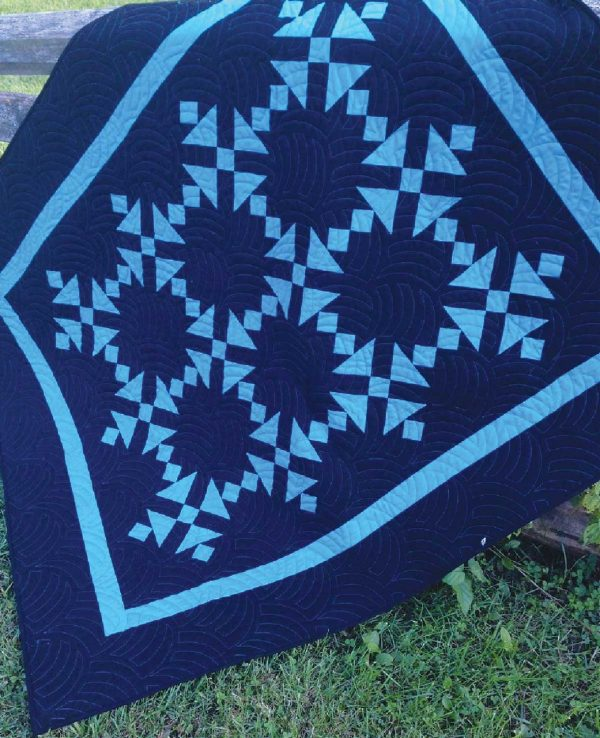 CLPLRB003 - Almost Amish Cat's Cradle Quilt Pattern by Cut Loose Press