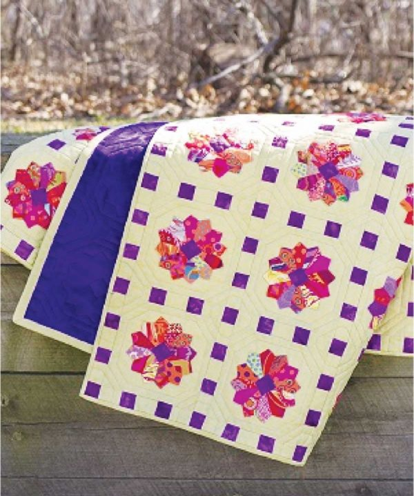 CLPPHA007 - Dresden Jellies Quilt Pattern by Cut Loose Press