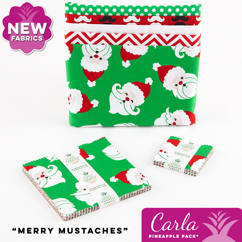 Merry Mustaches - Carla Pineapple Pack