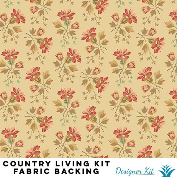 Country Living Designer Kit - 9 1/4 yards fabric backing