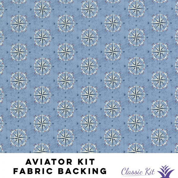 Aviator Classic Kit - 4.5 yards fabric backing