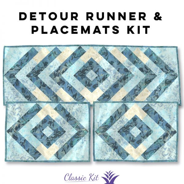 Detour Table Runner & Placemats - Classic Kit