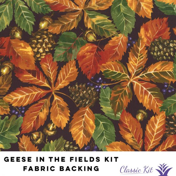 Geese in the Fields Classic Kit - 5 yards fabric backing