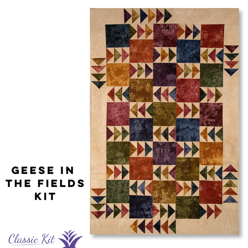 Geese in the Fields - Classic Kit