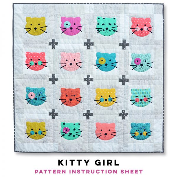 Kitty Girl Pattern