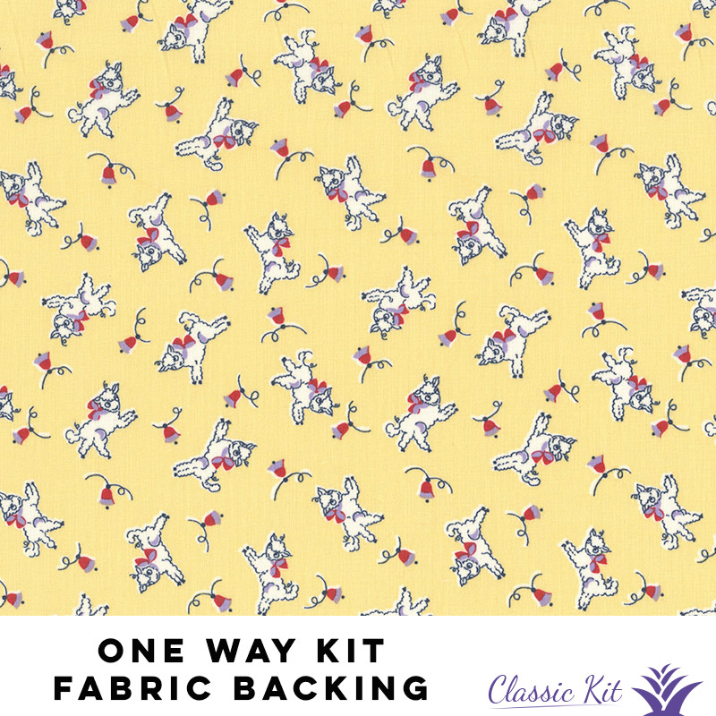 One Way Classic Kit - 3 yards fabric backing