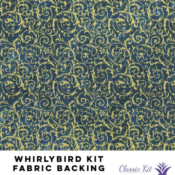 Whirlybird Classic Kit - 3 5/8 yards fabric backing