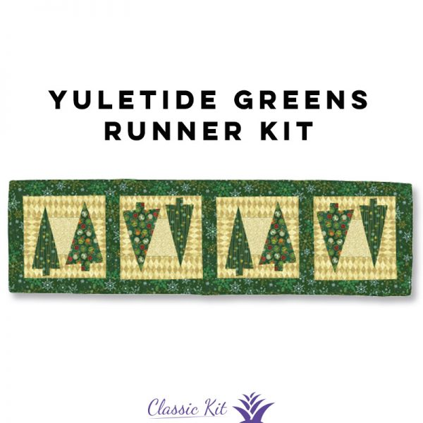 Yuletide Greens Table Runner - Classic Kit