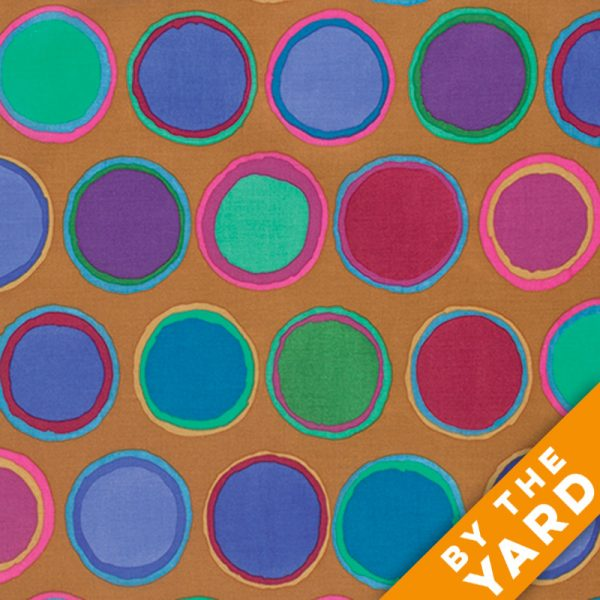 Artisan by Kaffe Fassett  - Paint Pots - Blue - By the Yard