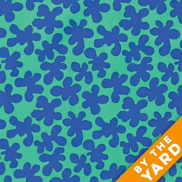 Artisan by Kaffe Fassett  - Squiggle - Green - By the Yard