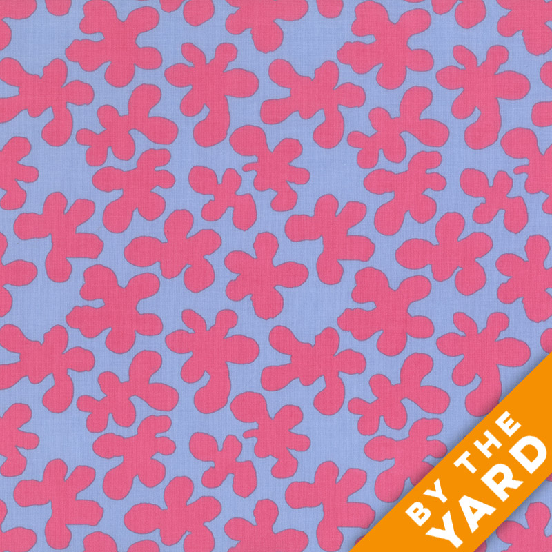 Artisan by Kaffe Fassett  - Squiggle - Pink - By the Yard
