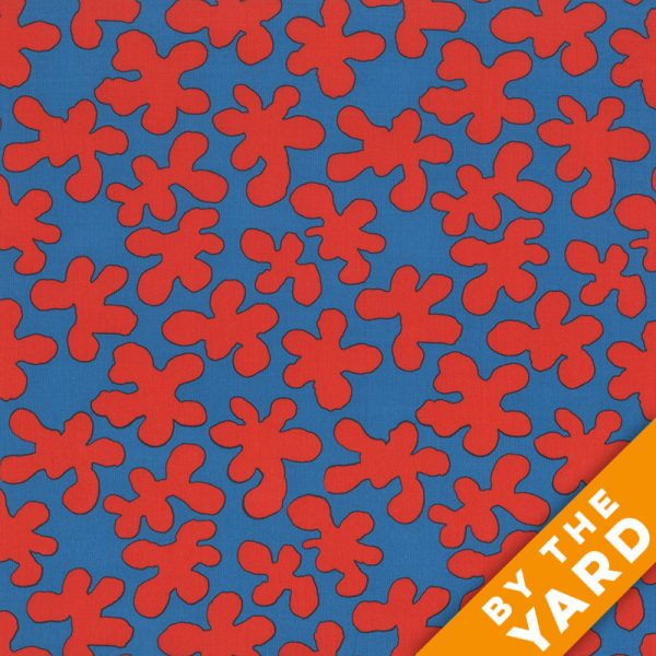 Artisan by Kaffe Fassett  - Squiggle - Red - By the Yard