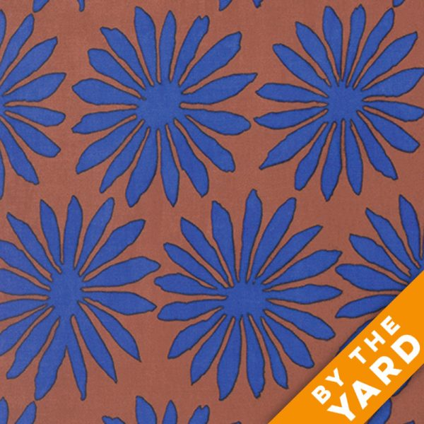 Artisan by Kaffe Fassett  - Gerbera - Brown - By the Yard