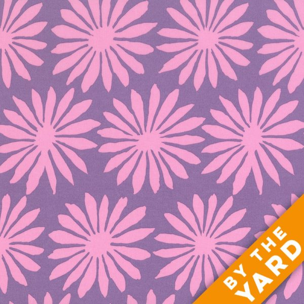 Artisan by Kaffe Fassett  - Gerbera - Lilac - By the Yard