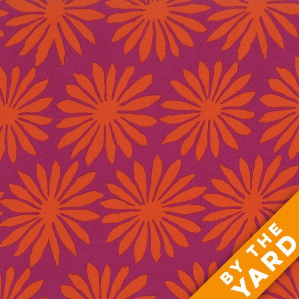 Artisan by Kaffe Fassett  - Gerbera - Magenta - By the Yard